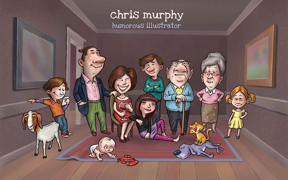 Chris Murphy Humorous Illustrator